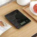 전자저울 주방 제빵 계량 저울 /강화유리 WHB13 블랙