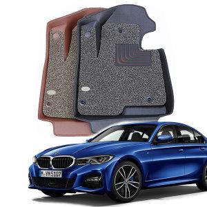 카마루 6D 가죽 코일 매트 BMW 3시리즈 G20