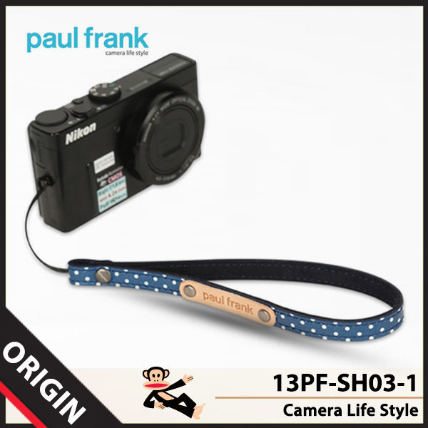 폴프랭크 13PF-SH03-1 카메라 손목스트랩 (네이비)