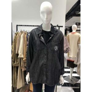 (현대백화점) 나이스클랍  (N193PWN891) 루즈핏 데님셔츠