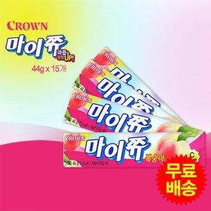 (주식회사 크라운) 마이쮸 복숭아맛 스틱(44gx15개)