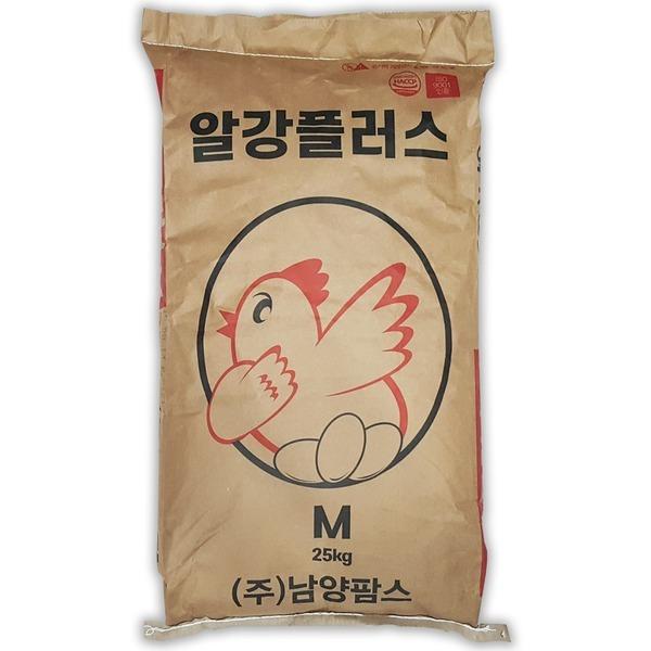 알강플러스25kg/닭사료/닭모이/닭먹이/백봉/오골계