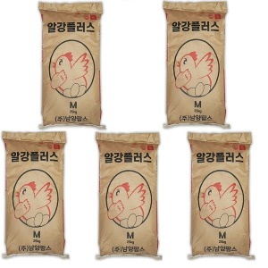 (무배)알강플러스25kgx5개 닭사료/닭사료/닭모이