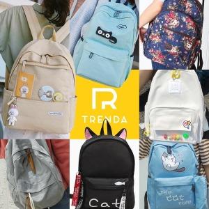 백팩 가방 여성 책가방 학생 배낭 대학생 여행 초등