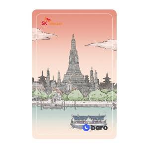 (SK텔레콤) baro 3GB 카드