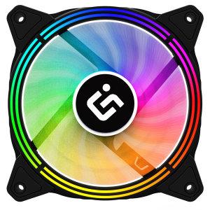 아이구주 TR120 스펙트럼 RGB LED FAN 케이스 쿨링 팬