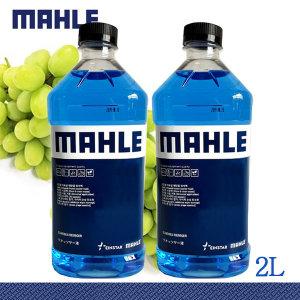 말레MAHLE 에탄올워셔액  2리터 청포도향1박스(6병)