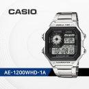 CASIO AE-1200WHD-1A 디지털 메탈시계 AE1200WHD1A