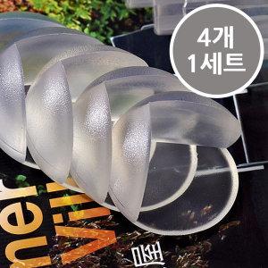 PVC 모서리 보호대(4개 1세트)/유아 모서리 보호대