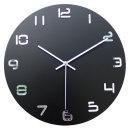 이프 벽시계 블랙 심플디자인 벽걸이시계 (Big Hit)