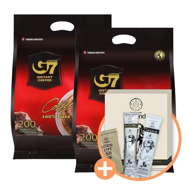 베트남 G7 커피/Pure Black 200T/블랙 레전드커피 증정