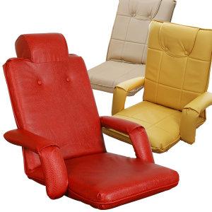 좌식의자 모음/기능성 접이식 등받이 안락 쿠션의자