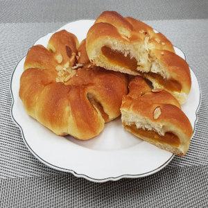 경성명과 수제 호박앙금빵 3개 + 단팥빵 5개