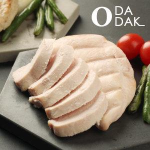 오다닭 염분무첨가 닭가슴살 100g 100팩 (10kg) 저염분