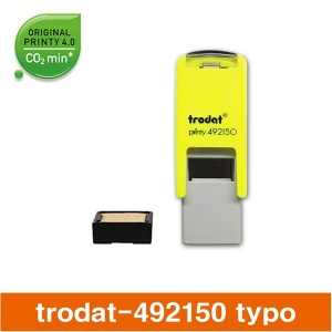 트로닷 492150 조립식 자동스탬프 요철스탬프 타이포