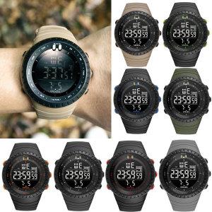 스포츠 손목 시계 전자 패션 남성 남자 아동 군인