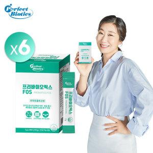 프리바이오틱스 FOS 장건강 유산균먹이 6박스