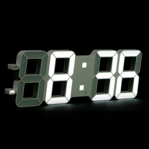 LED벽시계 무드등 인테리어 디자인 벽걸이시계 45cm
