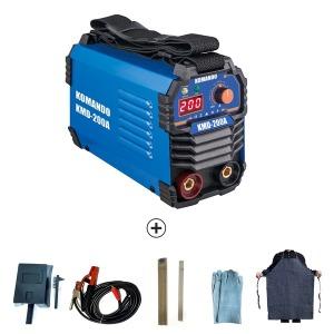 가정용 코만도 인버터용접기 풀세트 KMD-200A