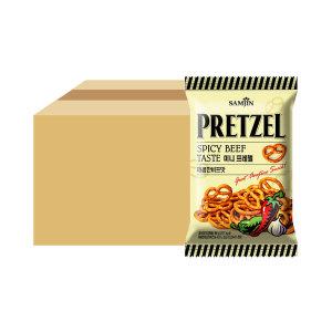 미니프레첼 매콤한 비프맛 85g x 24 (1box)