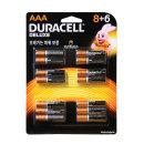 듀라셀 디럭스 알카라인 8+6 AAA 건전지 14알