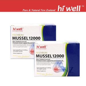 하이웰 프리미엄 초록입홍합 Mussel 10000(200정x2개)