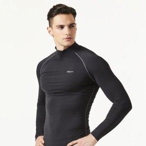 기능성 스포츠 이너웨어 겨울 기모 발열 터틀넥 셔츠