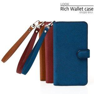 룩 갤럭시노트10 노트10플러스 리치월렛 지갑형 핸드폰케이스
