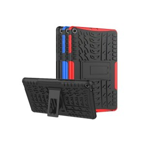 무배 갤럭시탭S5e T720 T725 퀵스탠드 아머케이스 레드