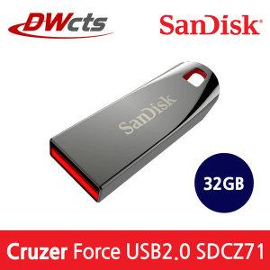 샌디스크 Cruzer Force CZ71 USB 32GB 공식총판 대원CTS///정식수입제품