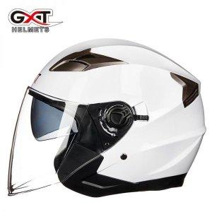 GXT 전기 사계절 바이크 오토바이 헬멧