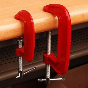 고강도 클램프 만력기 C형 목공용 파이프 핸디클램프
