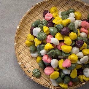 아리울 떡 공방 굳지않는 달콩 수제 깨송편 1kg