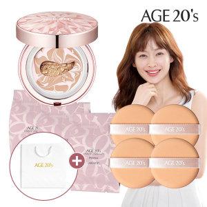 Age20S 다이아팩트케이스+리필3개+퍼프4개 21호쇼핑백