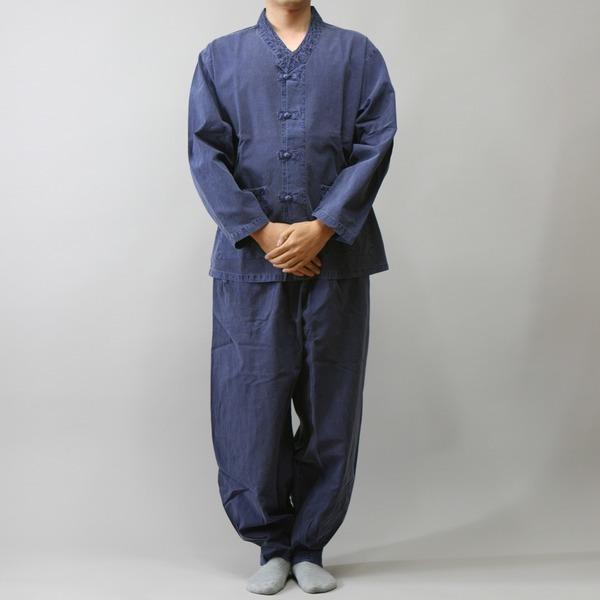 다담이 봄가을 저고리형V넥-생활한복/개량한복/법복