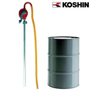 드럼펌프 로터리펌프 SB25 자바라펌프 드럼통 펌프