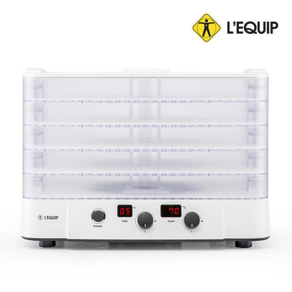 투명 하이 5단 식품건조기 LD-109 T50W 고추