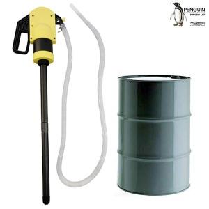 수동 드럼펌프 DLP530 자바라펌프 드럼통 펌프 자바라