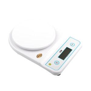 쿠킹플러스 스타 전자저울 5kg (1g) 가정용 주방 계량