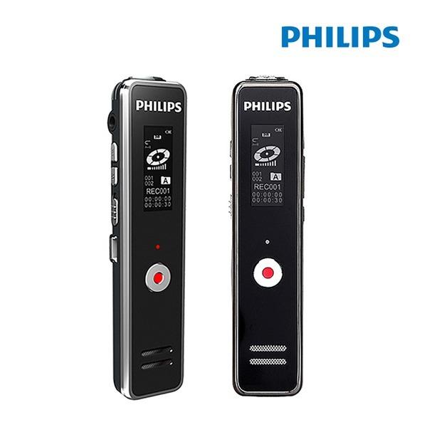 필립스 보이스레코더 VTR-5100 음성녹음기 블랙색상