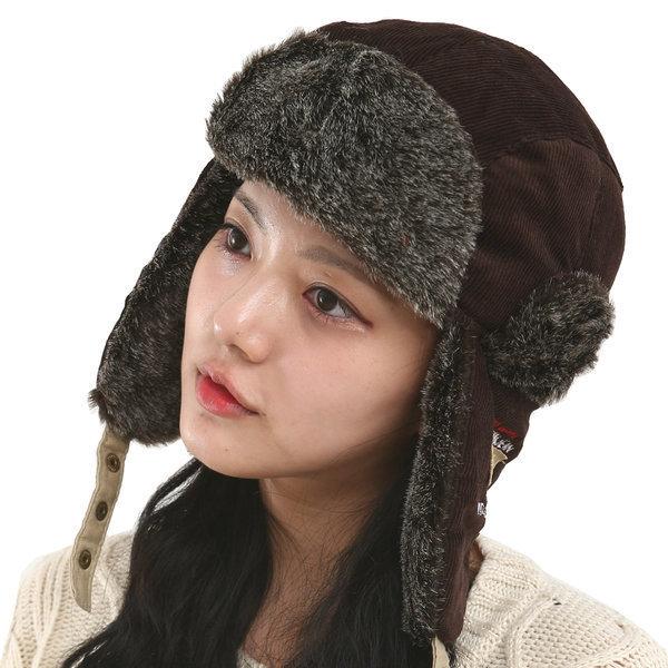 연예인 군밤모자 패션 털모자/겨울 남자 여성방한모자