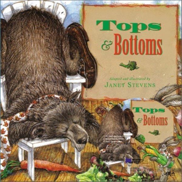 베오영 Tops and Bottoms (Hardcover Set)  Janet Stevens