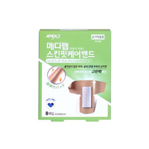 메디랩 스킨핏 케어밴드 반창고 손가락끝용 8매입