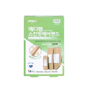메디랩 스킨핏 케어밴드 반창고 혼합형 18매입