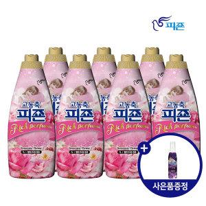 피죤 섬유유연제 리치퍼퓸 1L 로맨틱플라워 7개 사은품