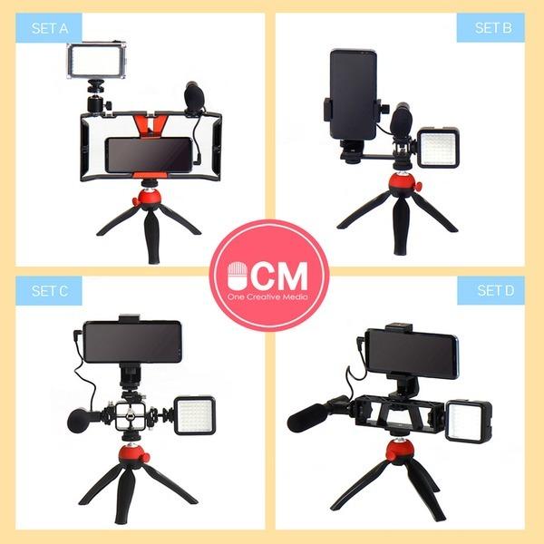 OCM 1인 방송장비 세트 촬영장비 유튜브 / 4타입