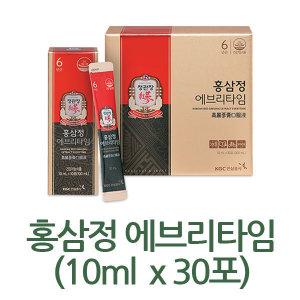 정관장 홍삼정 에브리타임 10ml  30포/별도매장상품