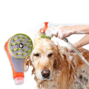 강아지 고양이 마사지 샤워기 멍멍군나비양