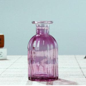 종모양 유리병 (보라) 수경재배 VASE