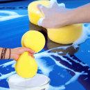 (8자형 스펀지) 세차스폰지 셀프세차 용품 자동차청소